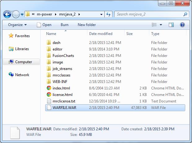 mrcjava Folder