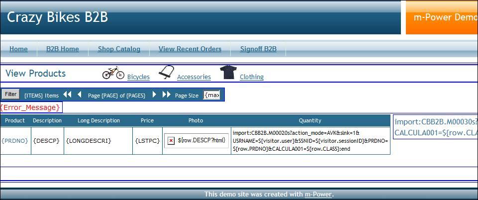 Creating a Shopping Cart Example Using Web 2 0 Templates | mrc Tech Blog
