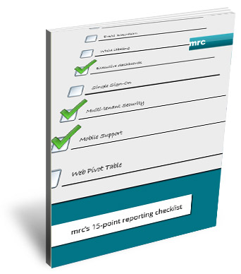 mrc's 15-Point Reporting Checklist