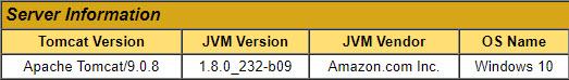 Server Information 2